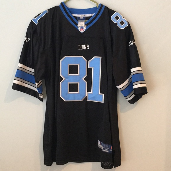 best sneakers d4928 17f44 💥Detroit Lions - Calvin Johnson Jersey RARE Black